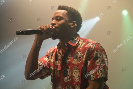 Editorial image of Denzel Rae Don Curry in concert at The Roundhouse, London, UK - 03 Dec 2019