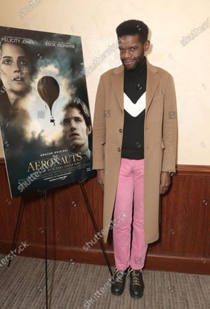 Victor Glemaud attends Amazon Studios 'The Aeronauts' Tastemaker Hosted by Zac Posen at Tribeca Grill