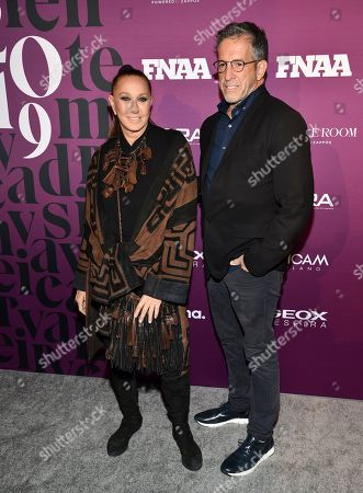 Donna Karan, Kenneth Cole. Fashion designers Donna Karan, left, and Kenneth Cole attend the 2019 Footwear News Achievement Awards at the IAC Building, in New York