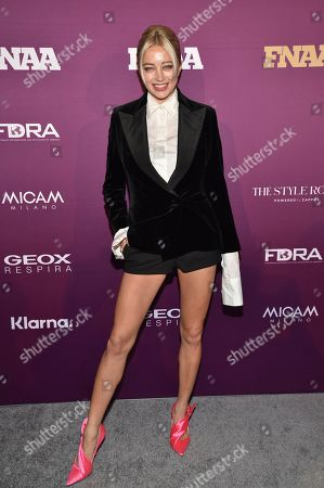 Caroline Vreeland attends the 2019 Footwear News Achievement Awards at the IAC Building, in New York