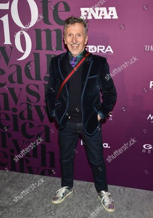 Fashion commentator Simon Doonan attends the 2019 Footwear News Achievement Awards at the IAC Building, in New York