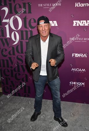 Stock Picture of Shoe designer Steve Madden attends the 2019 Footwear News Achievement Awards at the IAC Building, in New York