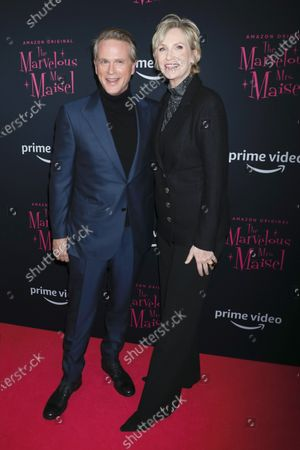 Cary Elwes and Jane Lynch