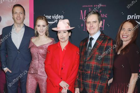 Editorial picture of 'The Marvelous Mrs. Maisel' season three TV show premiere, Arrivals, The Museum of Modern Art, New York, USA - 03 Dec 2019