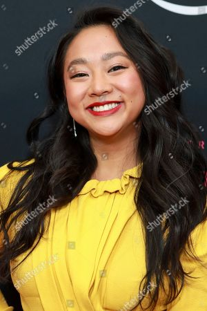 """Stephanie Hsu attends Amazon Prime Video's """"The Marvelous Mrs. Maisel"""" season 3 premiere at the Museum of Modern Art, in New York"""