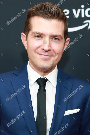 """Joel Johnstone attends Amazon Prime Video's """"The Marvelous Mrs. Maisel"""" season 3 premiere at the Museum of Modern Art, in New York"""