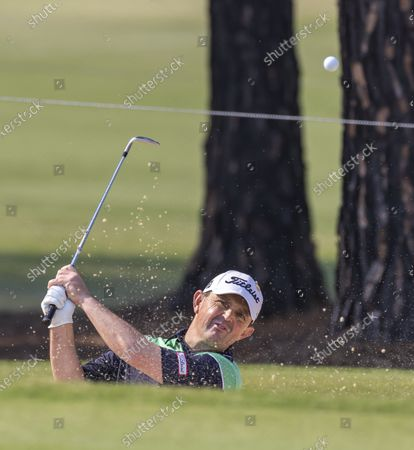 Greg Chalmers of Australia in action during the Australian Open pro-am at The Australian Golf Club in Sydney, Australia, 04 December 2019. The 104th Australian Open starts on 05 December and will run till 08 December 2019.