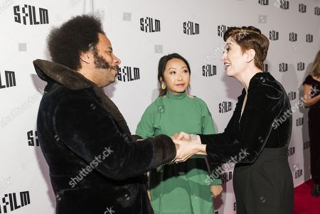 Boots Riley, Lulu Wang and Marielle Heller