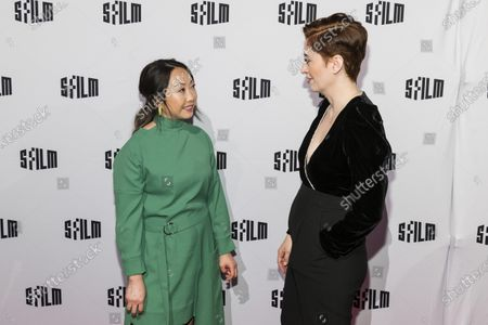Stock Photo of Lulu Wang and Marielle Heller
