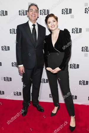 Stock Image of Fred Levin and Marielle Heller