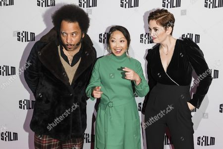 Stock Picture of Boots Riley, Lulu Wang and Marielle Heller