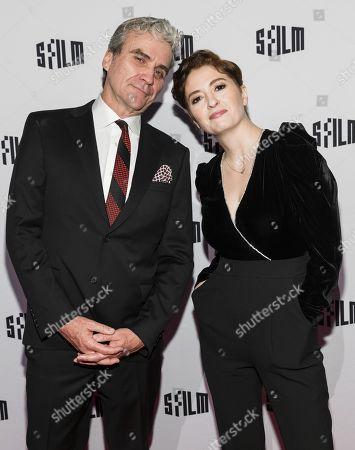 Marielle Heller and Tom Junod