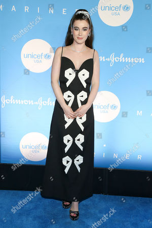 Editorial picture of 2019 UNICEF Snowflake Ball, New York, USA - 03 Dec 2019