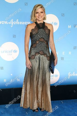 Stock Image of Kate Bolduan attends the 15th annual UNICEF Snowflake Ball at The Atrium, in New York