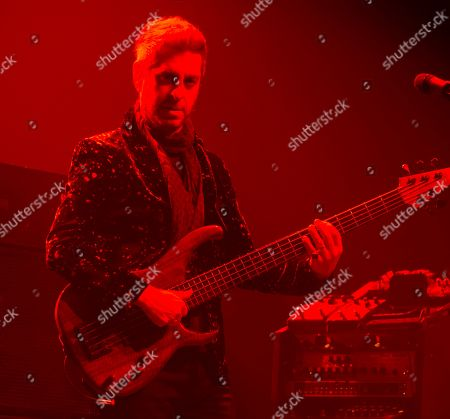 Mike Gordon of the band Phish performs during an exclusive concert for SiriusXM and Pandora listeners at The Met, in Philadelphia