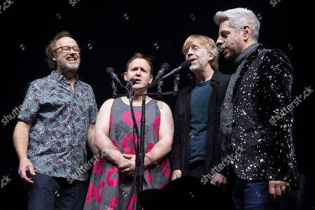 Editorial picture of Phish In Concert - , Philadelphia, USA - 03 Dec 2019
