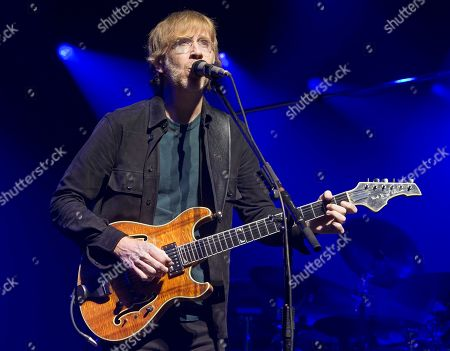 Stock Photo of Trey Anastasio of the band Phish performs during an exclusive concert for SiriusXM and Pandora listeners at The Met, in Philadelphia