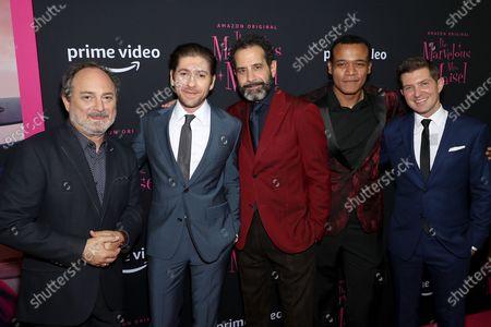 Kevin Pollak, Michael Zegen, Tony Shalhoub and Joel Johnstone