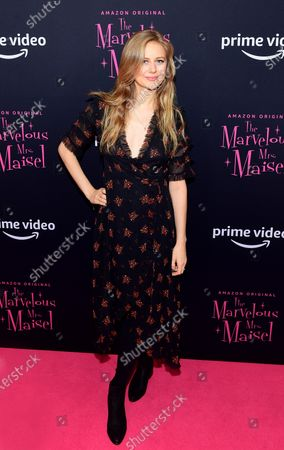 Editorial image of 'The Marvelous Mrs. Maisel' season three TV show premiere, Arrivals, The Museum of Modern Art, New York, USA - 03 Dec 2019