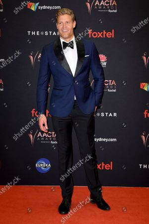 Australian veterinarian Chris Brown arrives at the 2019 Australian Academy of Cinema and Television Arts Awards in Sydney, Australia, 04 December 2019.