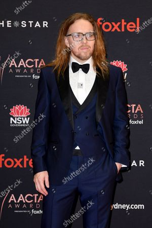 Stock Image of Tim Minchin arrives at the 2019 Australian Academy of Cinema and Television Arts Awards in Sydney, Australia, 04 December 2019.