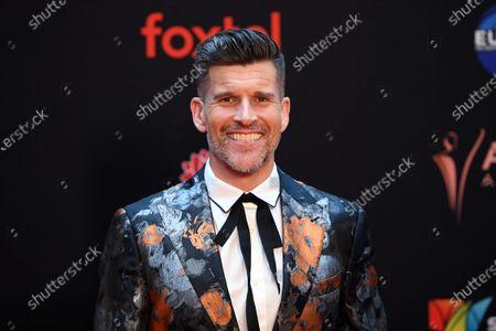 Television presenter Osher Gunsberg arrives at the 2019 Australian Academy of Cinema and Television Arts Awards in Sydney, Australia, 04 December 2019.