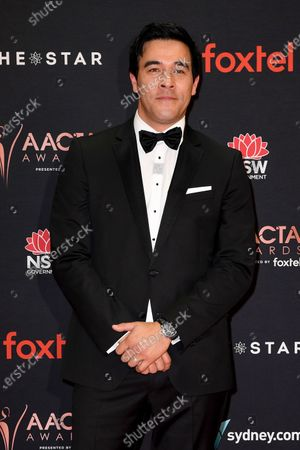 James Stewart arrives at the 2019 Australian Academy of Cinema and Television Arts Awards in Sydney, Australia, 04 December 2019.