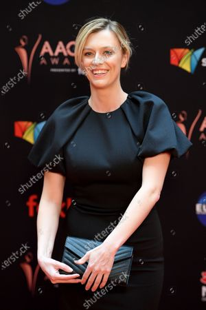 Stock Picture of Gracie Otto arrives at the 2019 Australian Academy of Cinema and Television Arts Awards in Sydney, Australia, 04 December 2019.