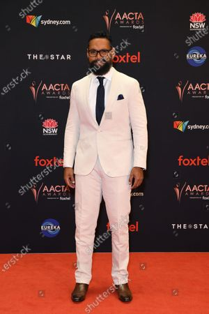 Rob Collins arrives at the 2019 Australian Academy of Cinema and Television Arts Awards in Sydney, Australia, 04 December 2019.