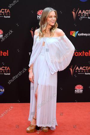 Sophia Forrest Arrives 2019 Australian Academy Cinema Editorial Stock Photo Stock Image Shutterstock