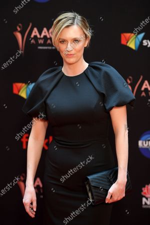 Stock Photo of Gracie Otto arrives at the 2019 Australian Academy of Cinema and Television Arts Awards in Sydney, Australia, 04 December 2019.