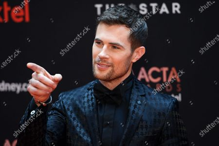 David Berry arrives at the 2019 Australian Academy of Cinema and Television Arts Awards in Sydney, Australia, 04 December 2019.