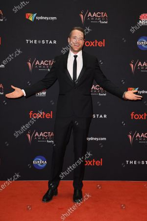 Stock Picture of Hamish Blake arrives at the 2019 Australian Academy of Cinema and Television Arts Awards in Sydney, Australia, 04 December 2019.