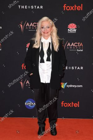 Jackie Weaver arrives at the 2019 Australian Academy of Cinema and Television Arts Awards in Sydney, Australia, 04 December 2019.
