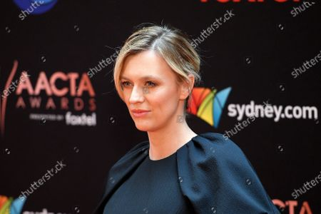 Gracie Otto arrives at the 2019 Australian Academy of Cinema and Television Arts Awards in Sydney, Australia, 04 December 2019.