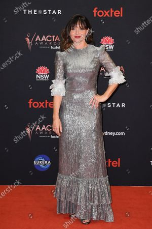 Stock Image of Essie Davis arrives at the 2019 Australian Academy of Cinema and Television Arts Awards in Sydney, Australia, 04 December 2019.