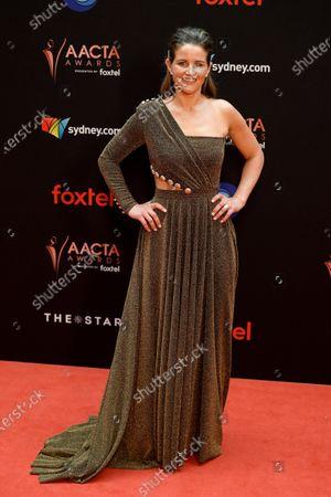 Australian jockey Michelle Payne arrives at the 2019 Australian Academy of Cinema and Television Arts Awards in Sydney, Australia, 04 December 2019.