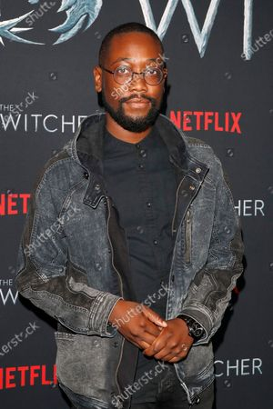 Stock Photo of Adwin Brown poses for photographers during a photocall for Netflix's 'The Witcher' Season 1 at The Egyptian Theatre Hollywood in Los Angeles, USA, 03 December 2019.