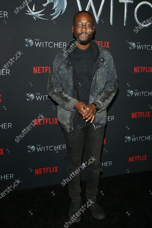 Editorial image of Photocall for Netflix's The Witcher in Los Angeles, USA - 03 Dec 2019