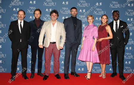 Editorial picture of 'Miss Scarlet and the Duke' film premiere, London, UK - 03 Dec 2019