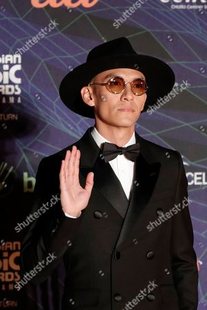 Editorial photo of Asian Music Awards, Nagoya, Japan - 04 Dec 2019