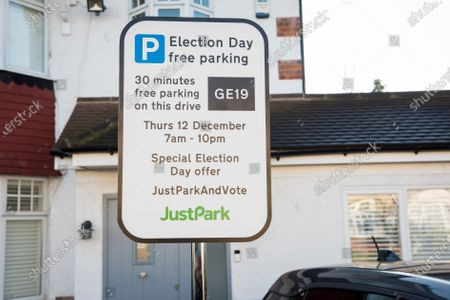 Former Home Secretary Alan Johnson launches JustPark and Vote. Offering free parking near polling stations on first December election day in nearly a century