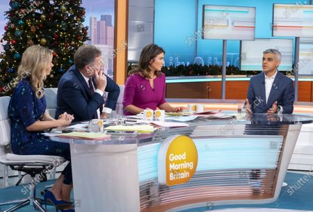 Editorial picture of 'Good Morning Britain' TV show, London, UK - 04 Dec 2019