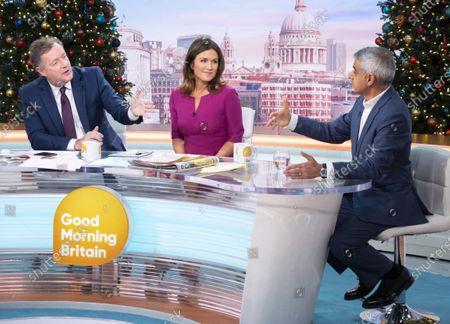 Editorial image of 'Good Morning Britain' TV show, London, UK - 04 Dec 2019