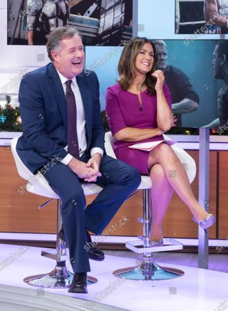 Stock Picture of Piers Morgan and Susanna Reid