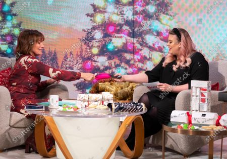 Lorraine Kelly and Louise Pentland