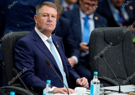 President of Romania Klaus Iohannis during NATO Summit in London, Britain, 04 December 2019. NATO countries' heads of states and governments gather in London for a two-day meeting.