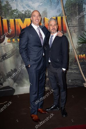 Producers of the movie Matt Tolmach and Hiram Garcia