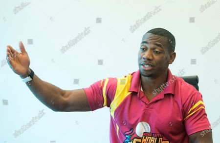 Jamaican sprinter Yohan Blake during an interview at Hindustan Times Mumbai office