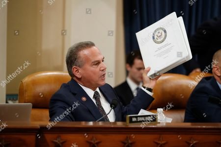 Rep. David Cicilline, D-R.I., talks during a hearing before the House Judiciary Committee on the constitutional grounds for the impeachment of President Donald Trump, on Capitol Hill in Washington
